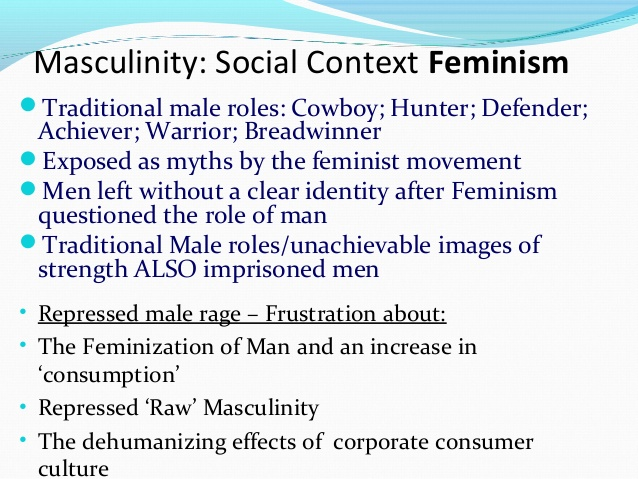 an analysis of femism A background feminist shows the awareness of women right and attitudes toward women in male-dominated (patriarchal) cultural, social, political, and economic structure.