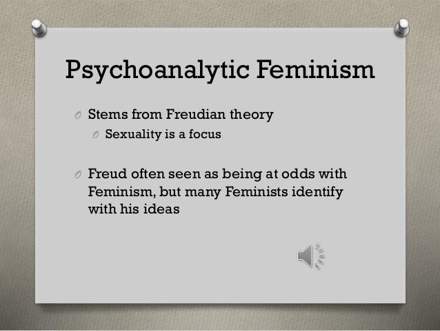 Psychoanalytic Feminism