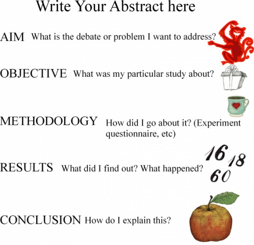 abstract academic writing