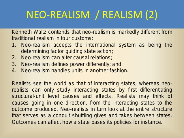 realism in international relations essay Globalization, realism and liberalism essay scholars of international relations shifted away from national security towards issues of trade and.