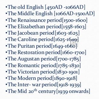 english renaissance period
