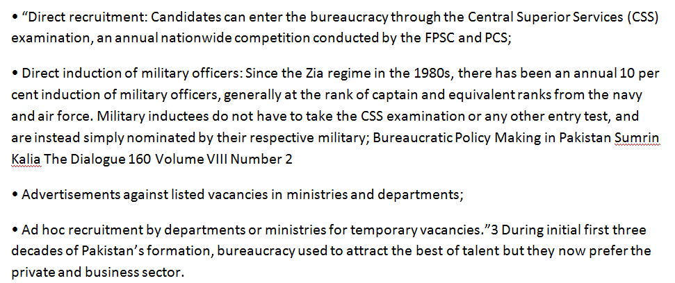 structure-of-pakistani-bureaucracy