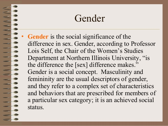 Difference between gender and women's studies
