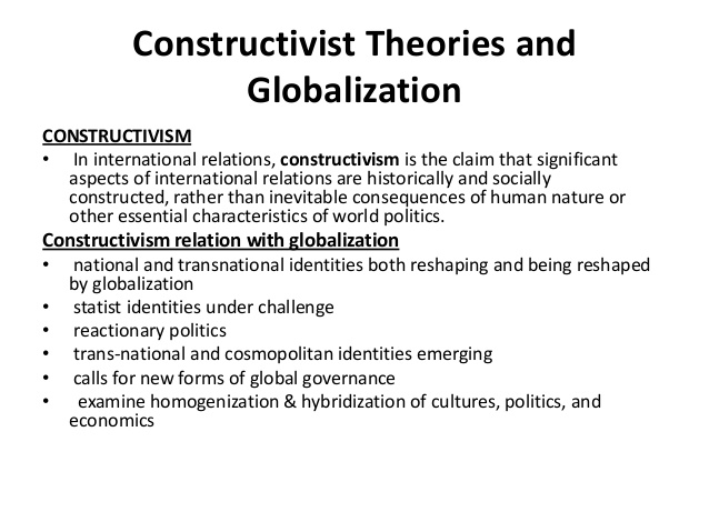 a critical analysis of the constructivism method politics essay Postmodernism and ir: from disparate critiques to a coherent theory of global politics felipe krause dornelles1 abstract postmodernism's contributions to international relations (ir) theory have been.