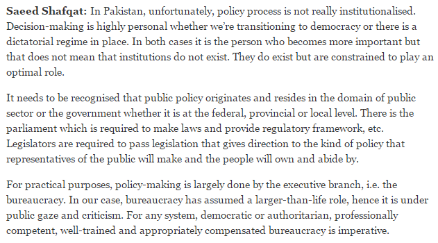 policy-implementation-and-role-of-bureaucracy-in-pakistan